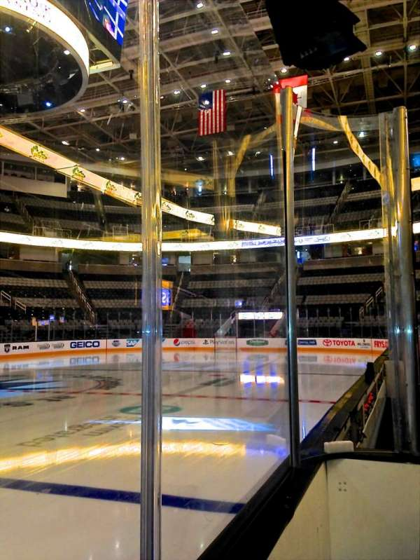 SAP Center, section: 102, row: 1, seat: 10