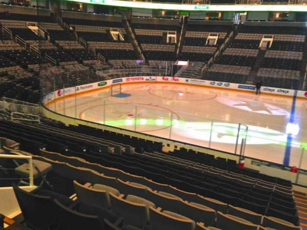 SAP Center, section: 102, row: 18, seat: 04
