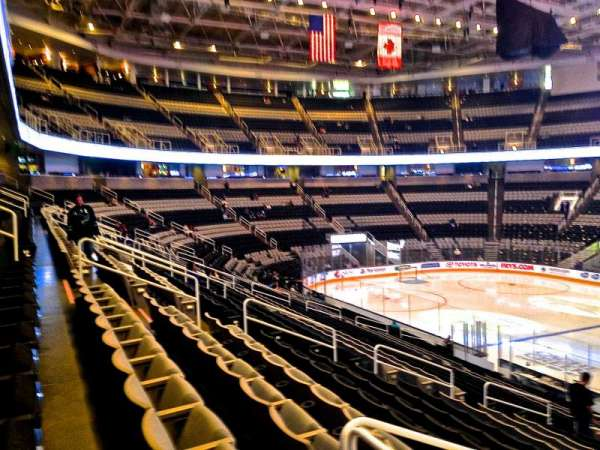 SAP Center, section: 114, row: 22, seat: 08