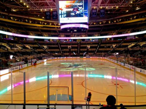 SAP Center, section: 121, row: 04, seat: 17