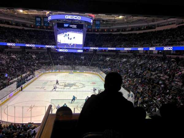 SAP Center, section: 121