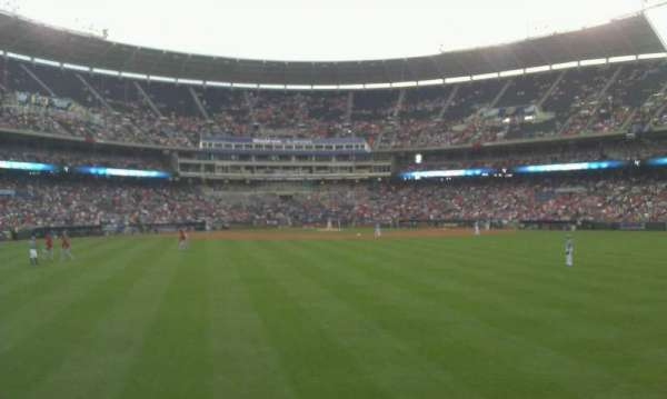Kauffman Stadium, section: Lower Party Porch, row: 1, seat: 56