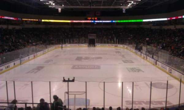 Cable Dahmer Arena, section: 111, row: Q, seat: 25