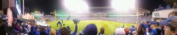 Kauffman Stadium, section: 201, row: F, seat: 12