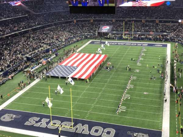 AT&T Stadium, section: 425, row: 1, seat: 21