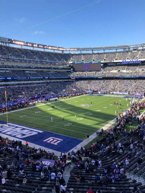 MetLife Stadium, section: 223, row: 1, seat: 1