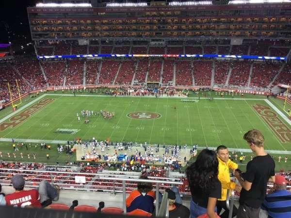 Levi's Stadium, section: 411, row: 6A, seat: 4
