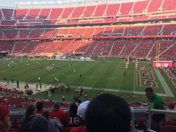 Levi's Stadium, section: 235, row: 7, seat: 1