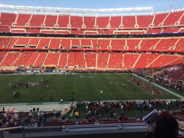 Levi's Stadium, section: C237, row: 5, seat: 20