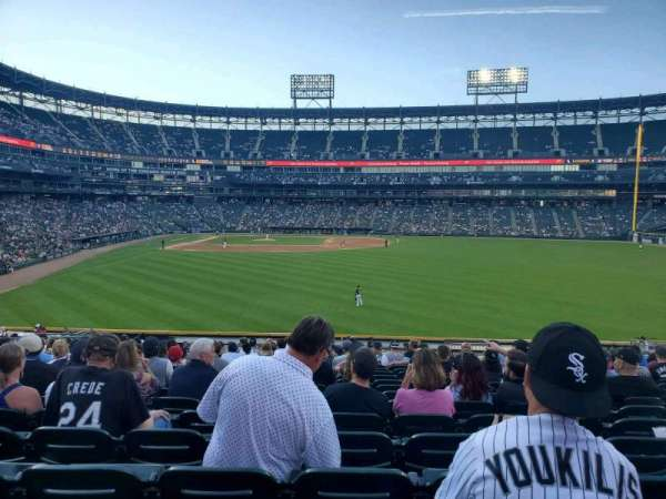 Guaranteed Rate Field, section: 105, row: 28, seat: 7