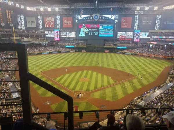 Chase Field, section: 315, row: 5, seat: 15