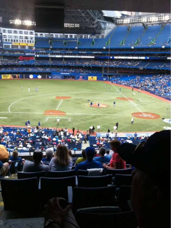 Rogers Centre, section: 229R, row: 13, seat: 2