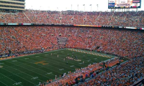 Neyland Stadium, section: xx2, row: 9, seat: 13