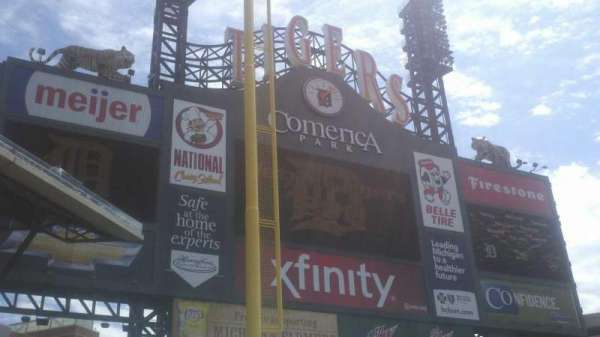 Comerica Park, section: 142, row: 7