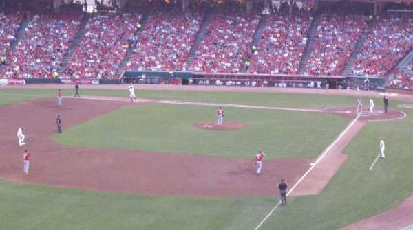 Great American Ball Park, section: 410, row: A, seat: 1