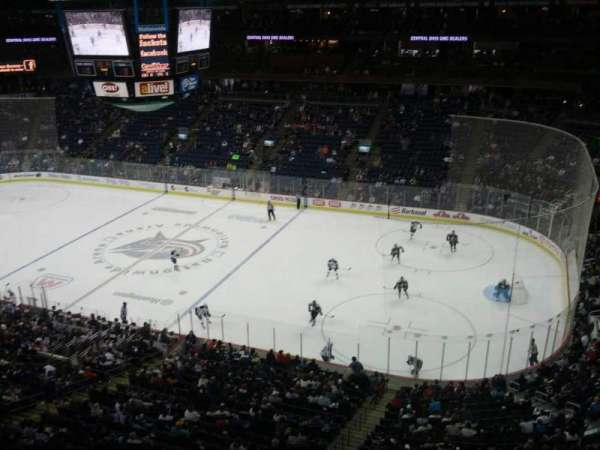Nationwide Arena, section: 201, row: A, seat: 11