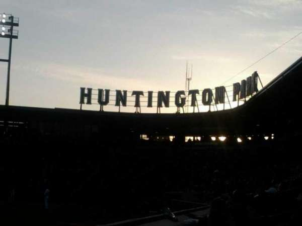 Huntington Park, section: 22, row: A, seat: 20
