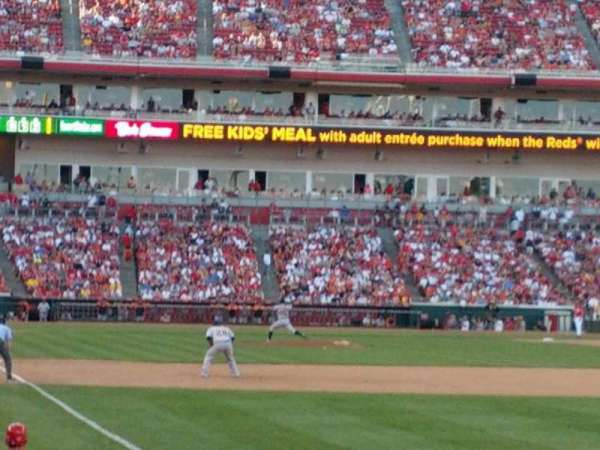 Great American Ball Park, section: 136, row: L
