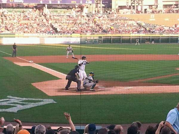 Comerica Park, section: 125, row: 19, seat: 6
