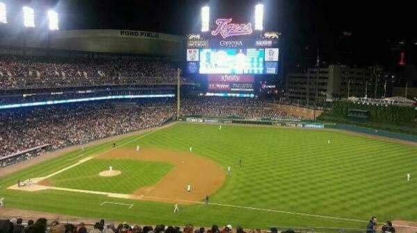 Comerica Park, section: 218, row: 18, seat: 12