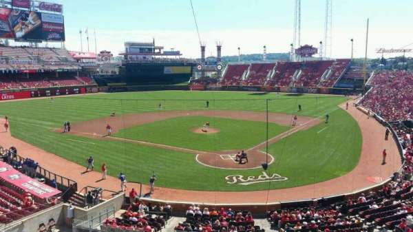 Great American Ball Park, section: 222, row: A, seat: 6