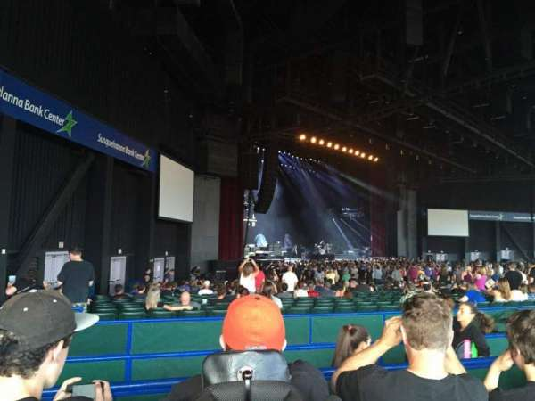 BB&T Pavilion, section: 204, row: 2, seat: 10