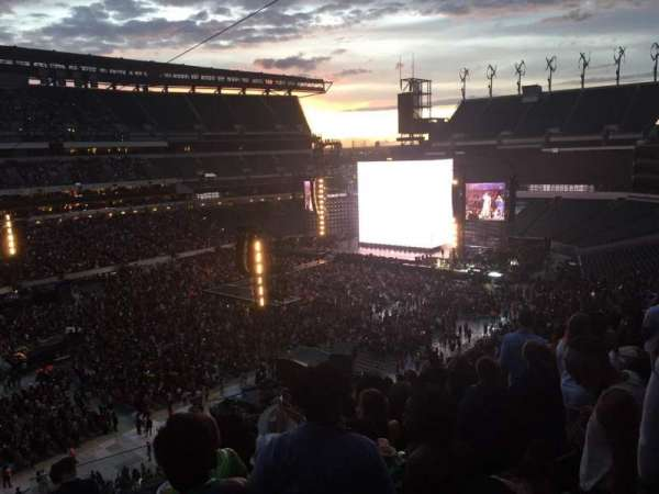 Lincoln Financial Field, section: C16, row: 18, seat: 1