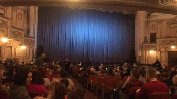 Merriam Theater, section: Orchestra, row: T, seat: 1