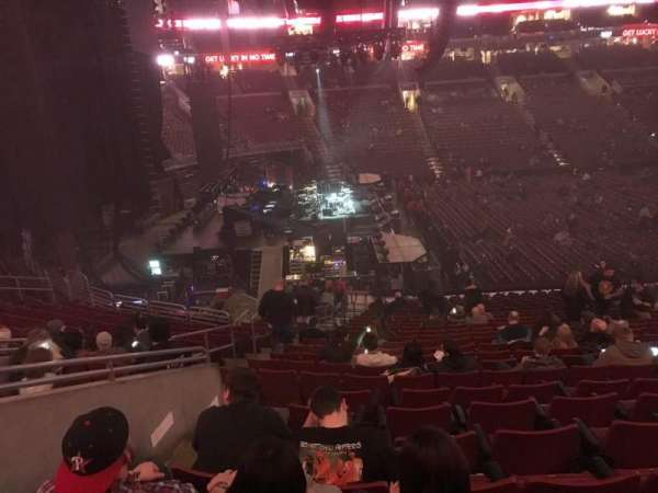 Wells Fargo Center, section: CB23, row: 1, seat: 5
