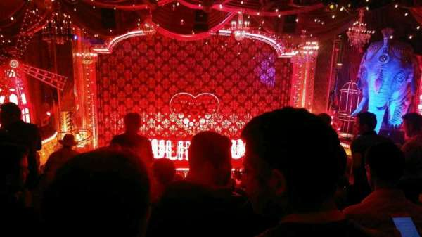 Al Hirschfeld Theatre, section: Mezzanine C, row: J, seat: 109