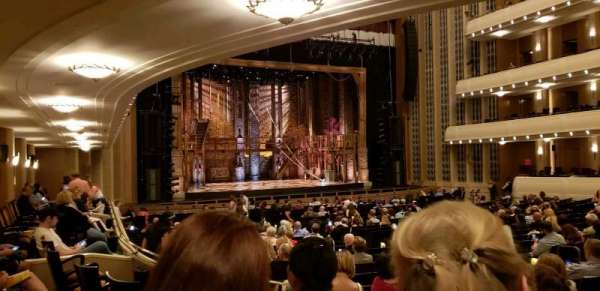 The Smith Center, section: parterre, row: zz, seat: 109