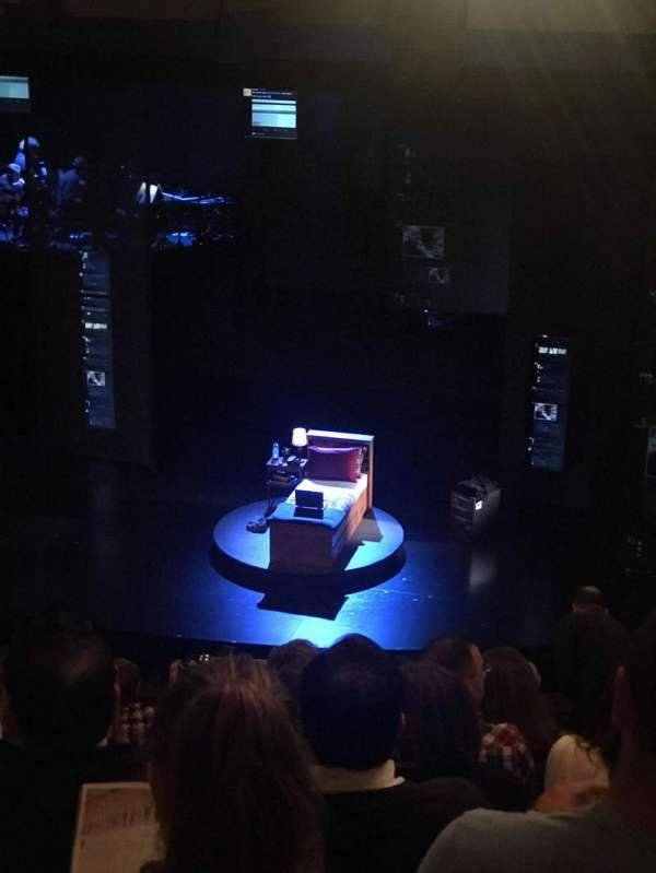 Music Box Theatre, section: Mezzanine R, row: J, seat: 4