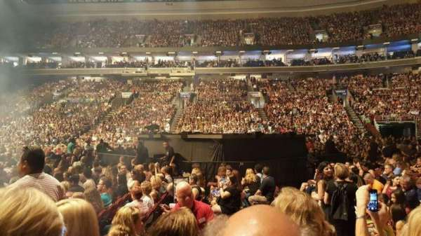 Wells Fargo Center, section: 102, row: 4, seat: 9