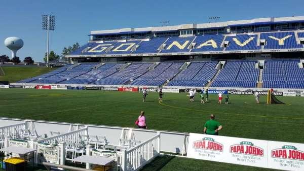 Navy-Marine Corps Memorial Stadium, section: 2, row: E, seat: 16
