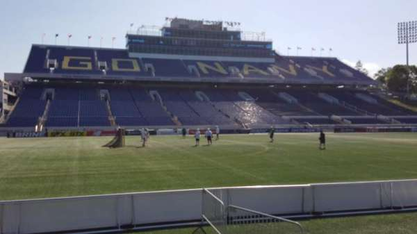 Navy-Marine Corps Memorial Stadium, section: 31, row: E, seat: 1