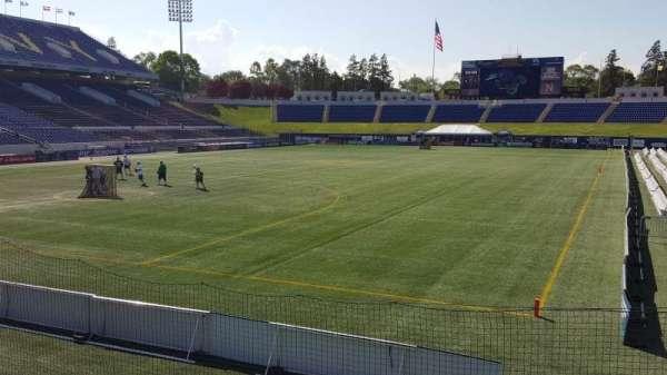 Navy-Marine Corps Memorial Stadium, section: unlabeled, row: 5, seat: 15