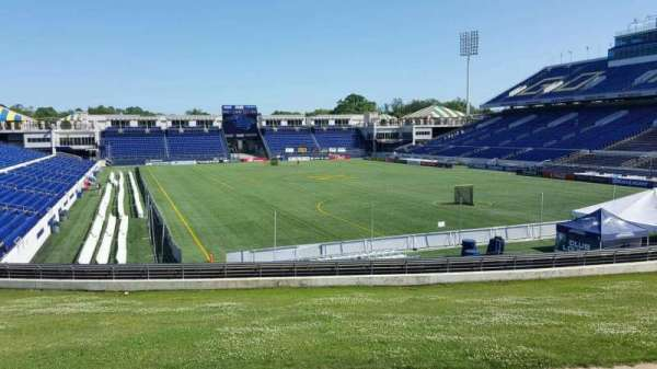 Navy-Marine Corps Memorial Stadium, section: D, row: 5, seat: 12