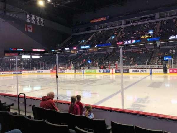 Van Andel Arena, section: 107, row: D, seat: 15