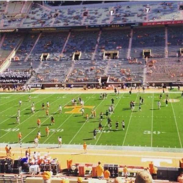 Neyland Stadium, section: S, row: 45, seat: 21-22