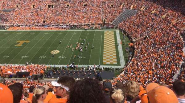 Neyland Stadium, section: Qq, row: 28