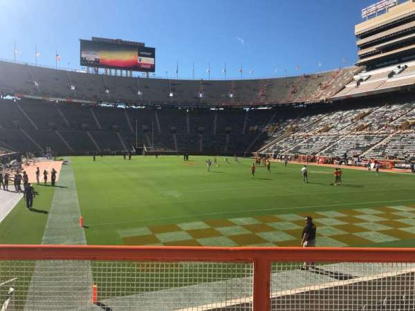 Neyland Stadium, section: Z11, row: 2, seat: 11