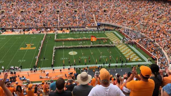 Neyland Stadium, section: BB, row: 19