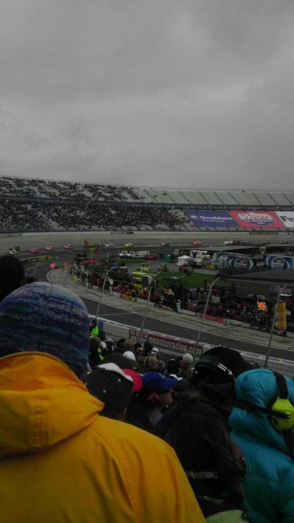 Dover International Speedway, section: 110, row: 23, seat: 3