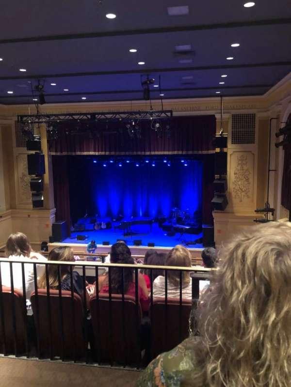 Ridgefield Playhouse, section: Balcony, row: E, seat: 2