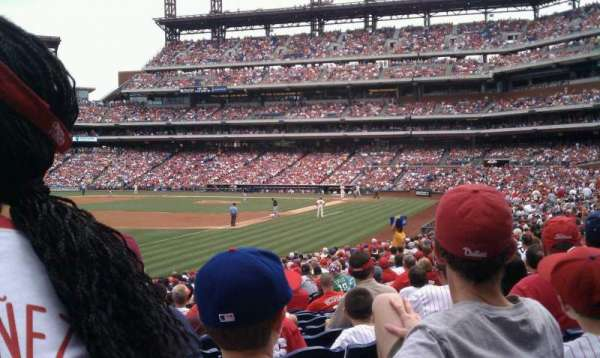 Citizens Bank Park, section: 137, row: 28, seat: 13
