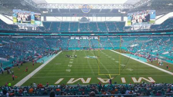 Hard Rock Stadium, section: 234, row: 14, seat: 14