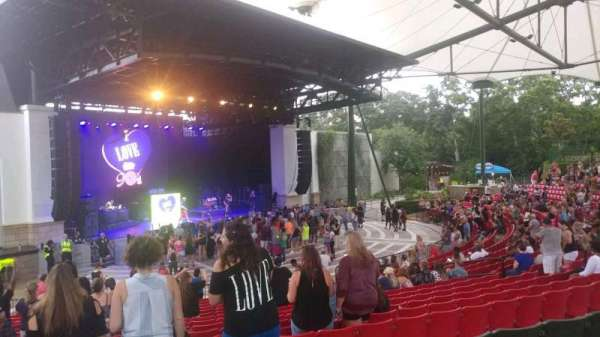 St. Augustine Amphitheatre, section: 203, row: S, seat: 45