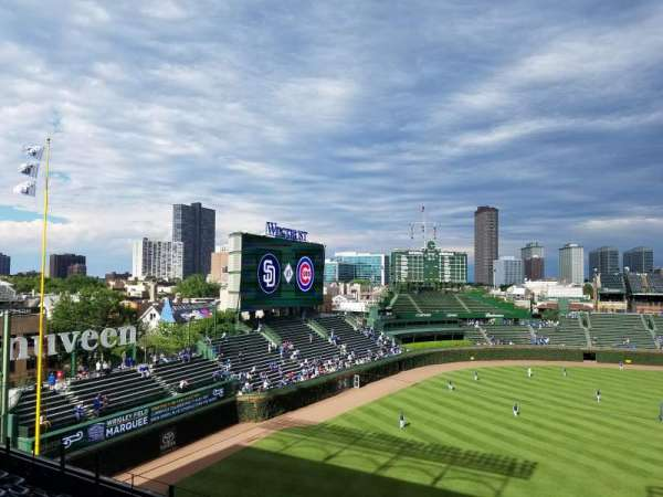Wrigley Field, section: 306L, row: 7, seat: 13