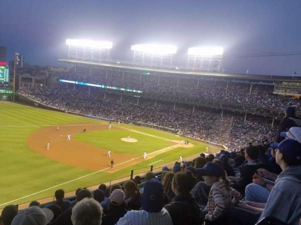 Wrigley Field, section: 306L, row: 7, seat: 16