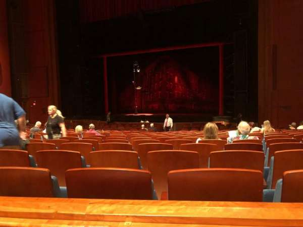 Au-Rene Theatre at the Broward Center, section: Orchestra R, row: Y, seat: 14